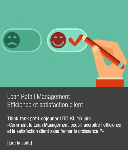 Image du mois Mai 2016, Lean Retail Management efficience et satisfaction client